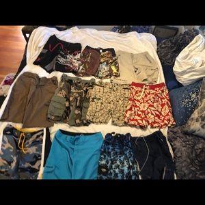 Boys Summer Shorts. 10 pairs. Size 8-10